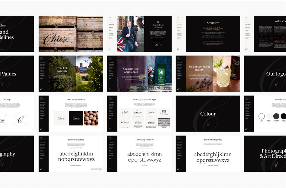 Chase Distillery Brand Guidelines