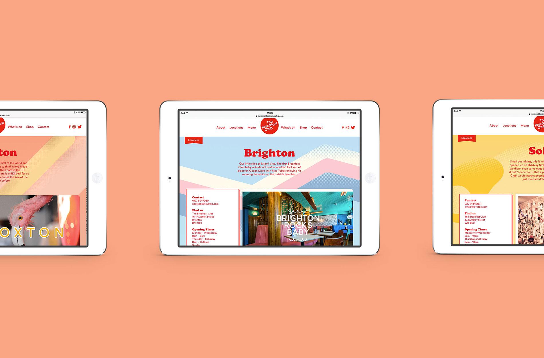 The Breakfast Club Website